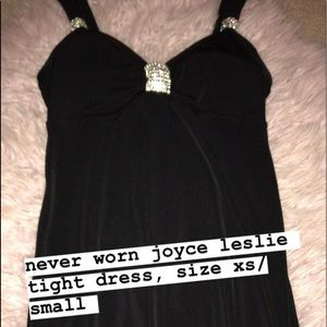 Joyce Leslie Tight Black Dress